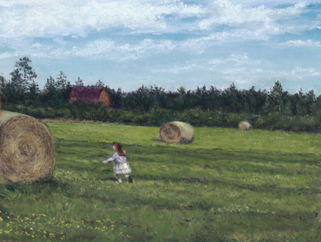 Playing with Haystacks © Nelia Harper