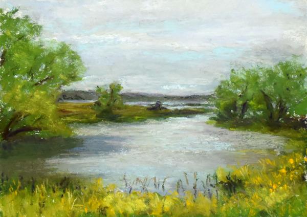 Belle-Fourche Reservoir © Nelia Harper