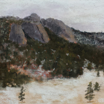 Painting in Winter