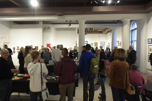 """A Full House at the Artists Association of Northern Colorado - """"Spring Forward"""" Show"""