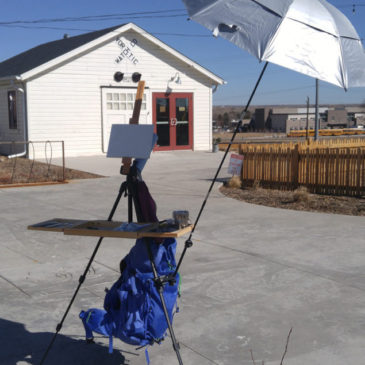 Coulter Easel Review and Transitioning to Oil Painting en Plein Air
