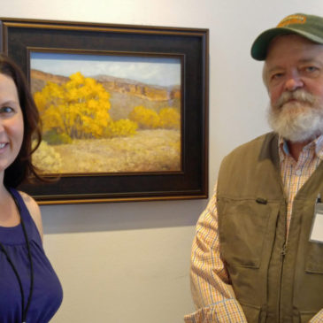 "A huge thank you to Carl Judson of Judson Art Outfitters for awarding my painting ""Bobcat Autumn"" the Guerilla Painter Award"