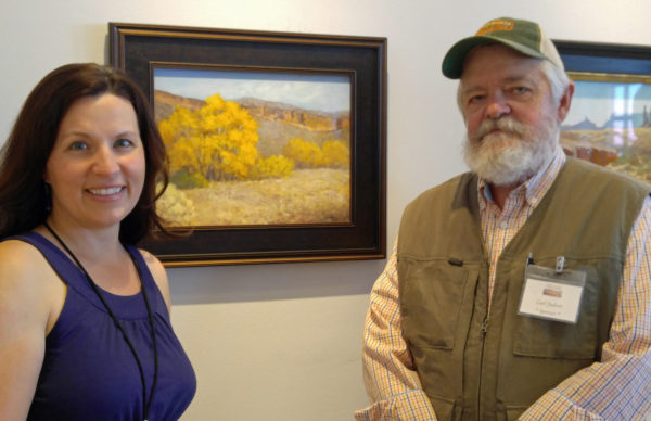 """A huge thank you to Carl Judson of Judson Art Outfitters for awarding my painting """"Bobcat Autumn"""" the Guerilla Painter Award"""