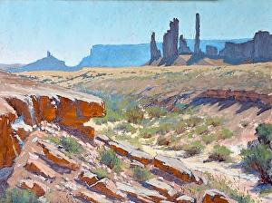 Navajo Toten, Kathy Howard, 12x16 $1200 3rd Place