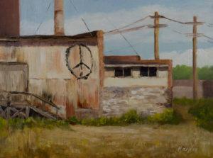 """""""Peace"""" oil on panel 9x12 © Nelia Harper"""