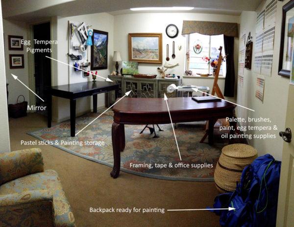 Small studio space