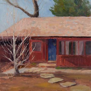 Chap's Cottage, Oil, 10x10