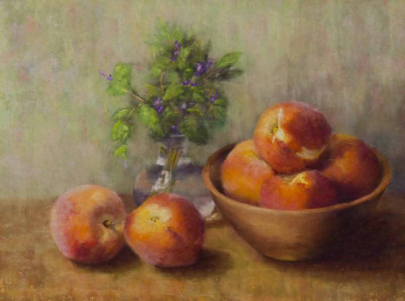 """Summer Sweetness"", 11x15, Pastel © Nelia Harper"