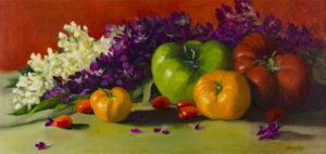"""Heirloom Beauties"", 8 1/4 x16, © Nelia Harper"