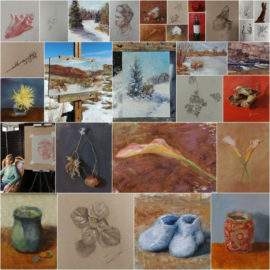 31 Paintings in 31 Days – paint or draw from life every day