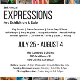 3rd Annual Expressions Art Show