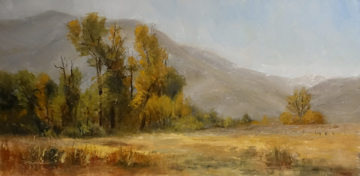 Promise of a New Day, 8x16, oil on linen, © Nelia Harper